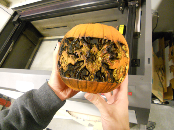 Burnt pumpkin