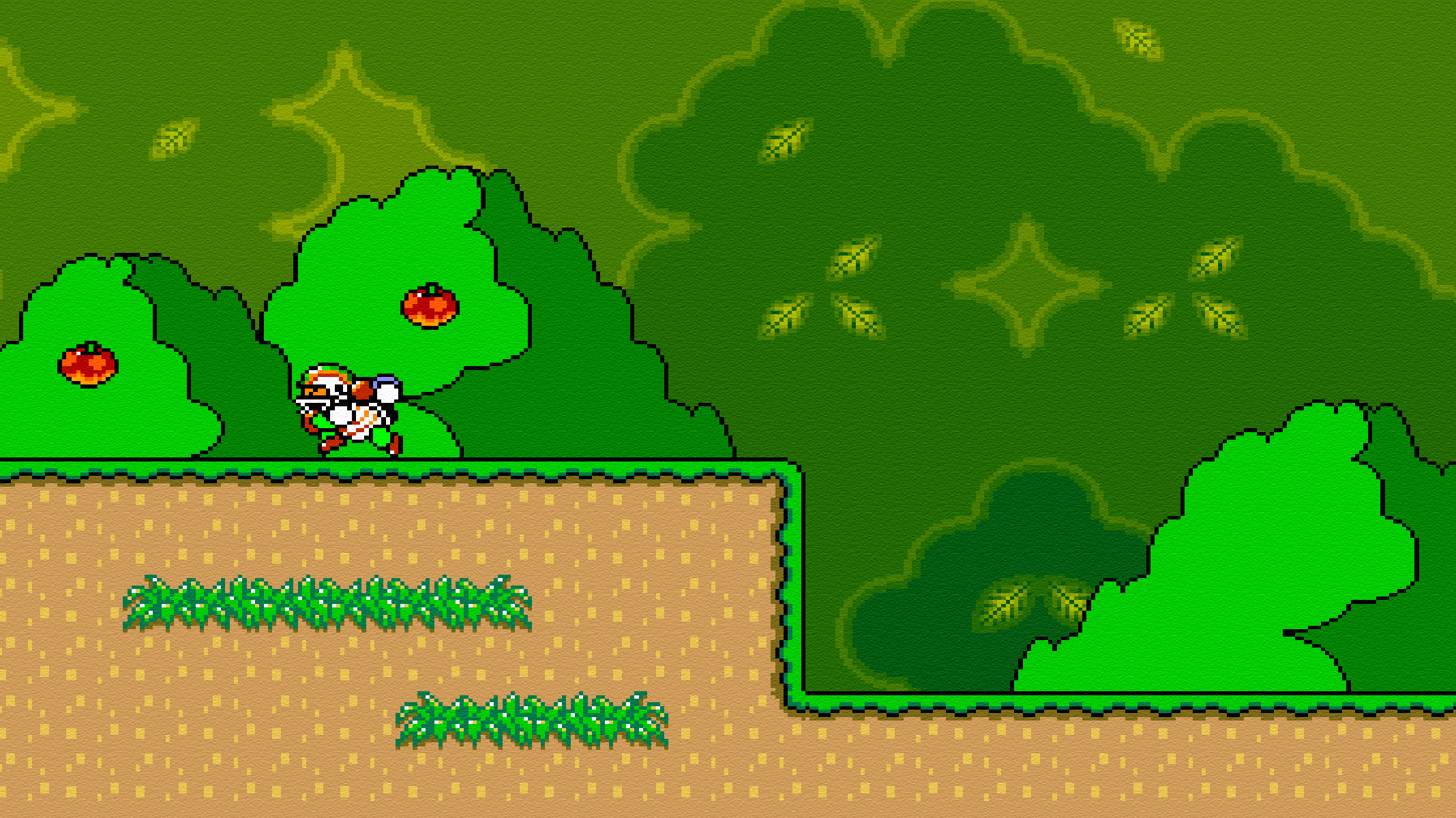 Megapaper super mario world on 16 spaces sorry for the spam note super mario world is a game by nintendo they own the ip and the tm and cr and all that jazz gumiabroncs Images