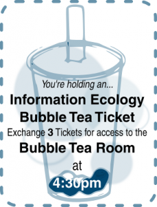 Bubble Tea Ticket